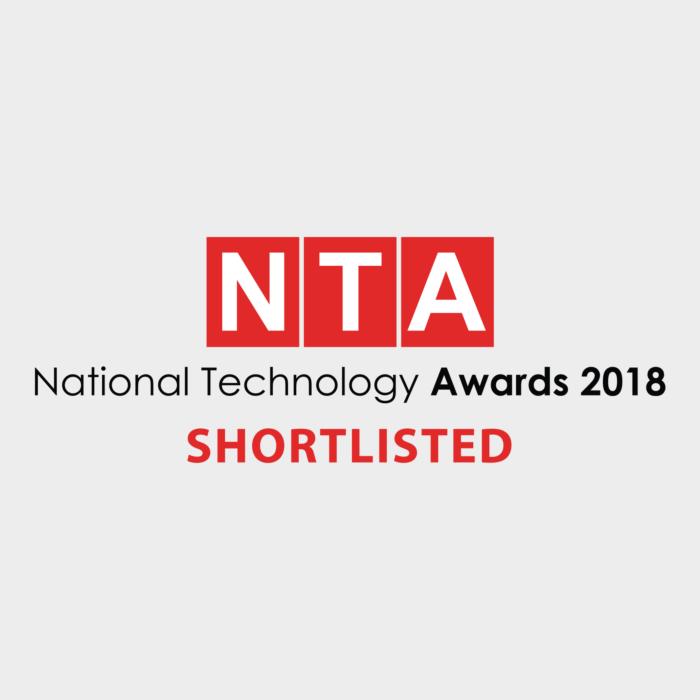 National Technology Awards 2018